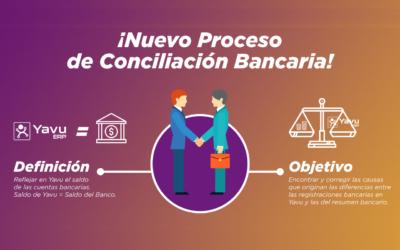 Nuevo Proceso de Conciliación Bancaria